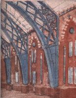 St Pancras interior detail