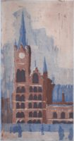 St Pancras from Kings X square