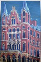 St Pancras from Euston Road